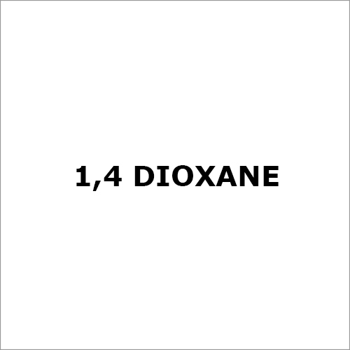1,4 Dioxane Chemical