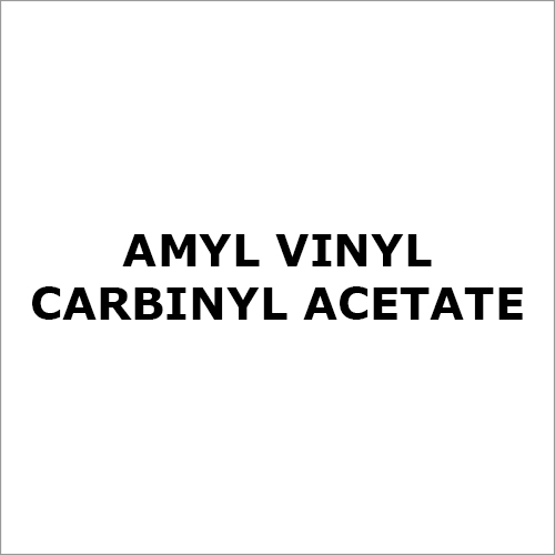 Amyl Vinyl Carbinyl Acetate Chemical