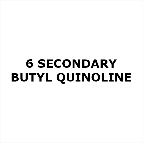 6 Secondary Butyl Quinoline Chemical