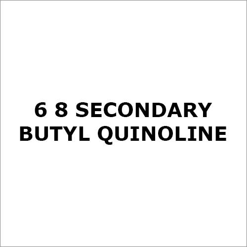 6-8 Secondary Butyl Quinoline Chemical