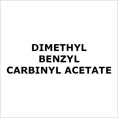 Dimethyl Benzyl Carbinyl Acetate Chemical
