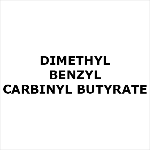 Dimethyl Benzyl Carbinyl Butyrate Chemical