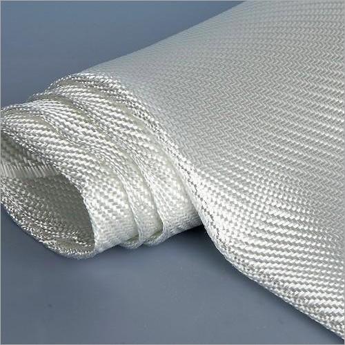 White Fiberglass Fabric