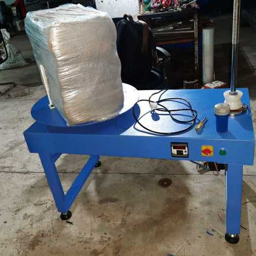 Manual stretch wrapping Machine