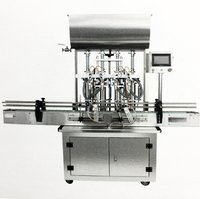 Automatic Paste Viscous Liquid Filling Machine (Pneumatic Operated)