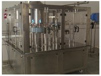Mineral Water Bottle Rinsing, Filling & Capping Machine