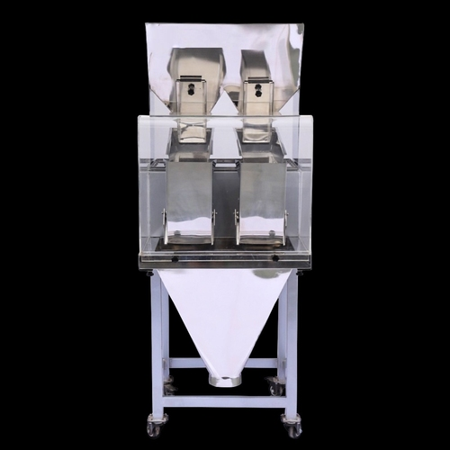 2 Head linear Multi Weigher Machine (For Granules)