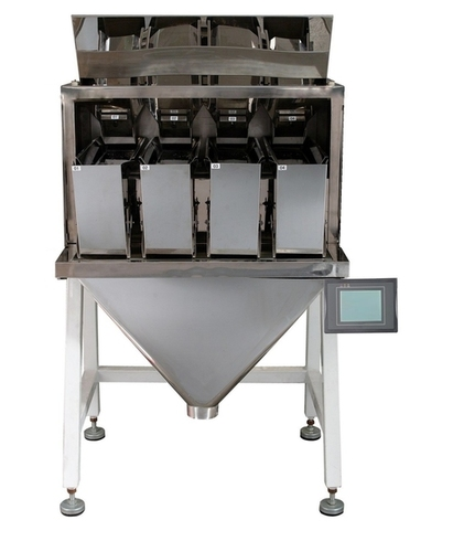 4 Head Linear Multi Weigher Machine (For Granuels)