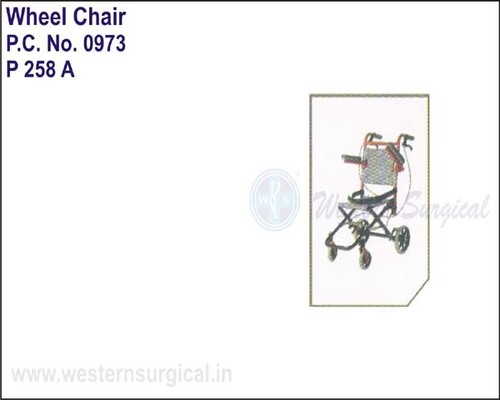 Transit Wheel Chair For Transit Passengers While Traveling