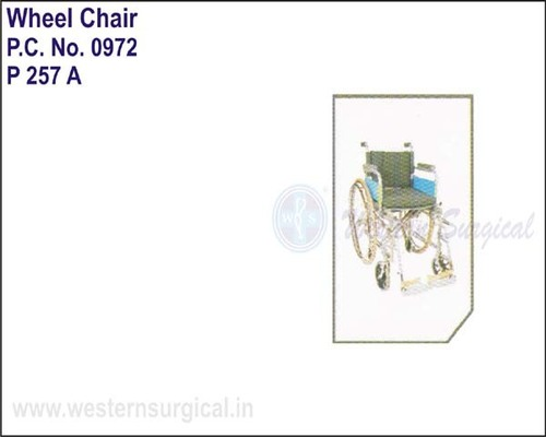 Wheel Chair (delaxe) with Spoke Wheels
