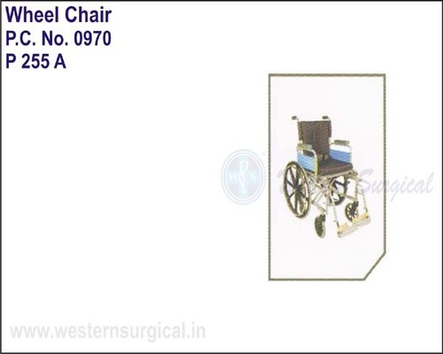 Invalid Wheel Chair (deluxe) With High Back Rest