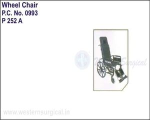 Invalid Reclining Wheel Chair with Elevated Chair with Elevated Foot Rest