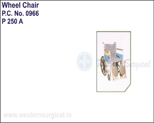 Wheel Chair (regular) With Elevated Foot Rest