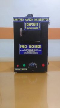 Wall Mounted Sanitary Napkin Incinerator
