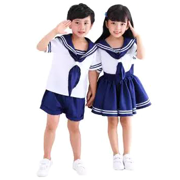 Kids School Uniform Dress
