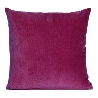 Velvet plain cushion