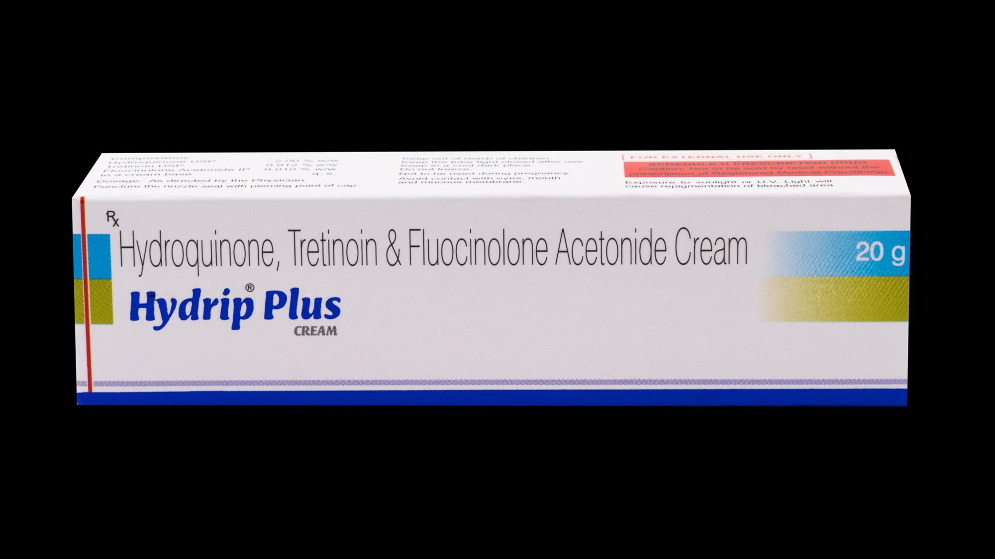 Hydroquinone, Tretinoin & Fluocinolone Acetonide Cream