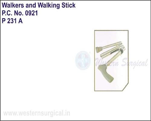 Invalid Folding Adjustable Walking Stick