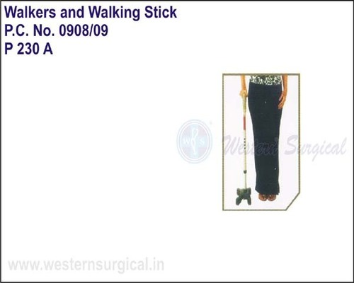 Invalid Quadripod Walking Stick