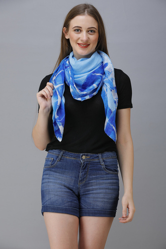 printed and dye scarves