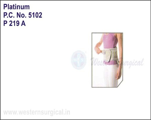Platinum- Corset Brace with Molding