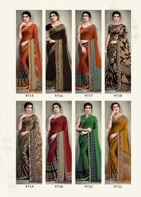 Korean Silk -4 Saree Catalog