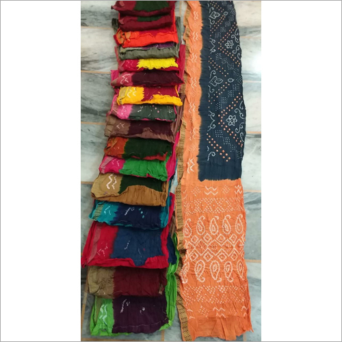 Ladies Cotton Bandhani Saree