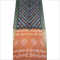 Designer Silk Bandhani Saree