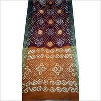 Tie Dye Silk Bandhani Saree