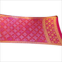 Gaji Silk Handwork Saree