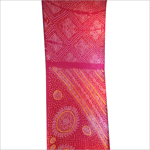 Printed Georgette Silk Saree