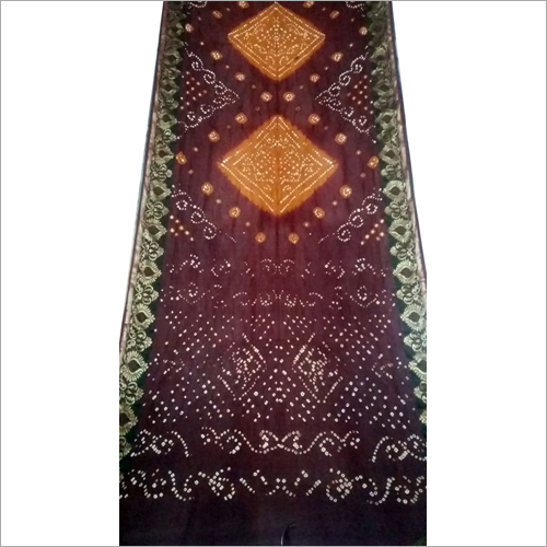 Silk Handwork Bandhani Saree