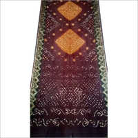 Silk Handwork Bandhani Saree