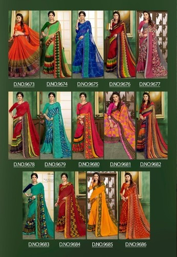 Fuzzy -14 Saree Catalog