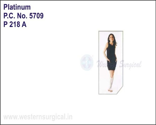 Platinum- Anti-Embolism Stockings Knee Length(Open Toe)