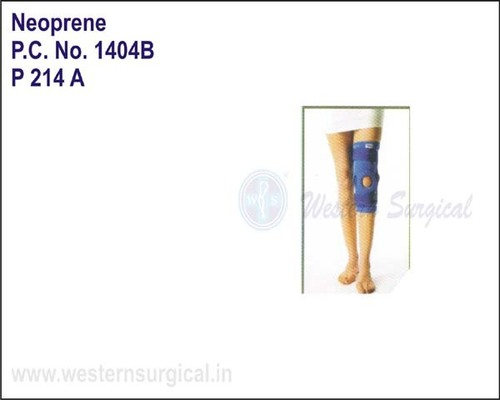 Neoprene- Hinged Knee Brace with Velcro