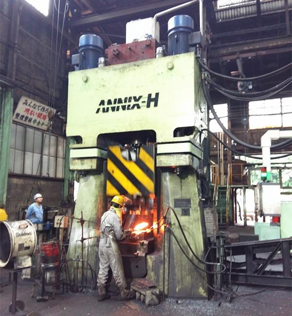 25kj CNC closed die drop forging hammer forge table knife