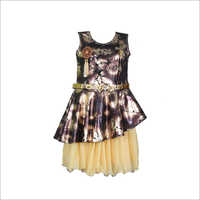 Girls Sleeveless Frock