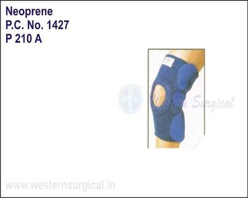 Neoprene- Knee Support(Velcro & 2-bioflex Magnets)