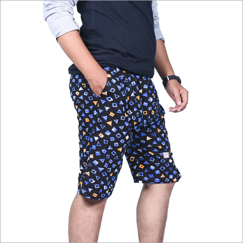 Men Cotton Printed Shorts