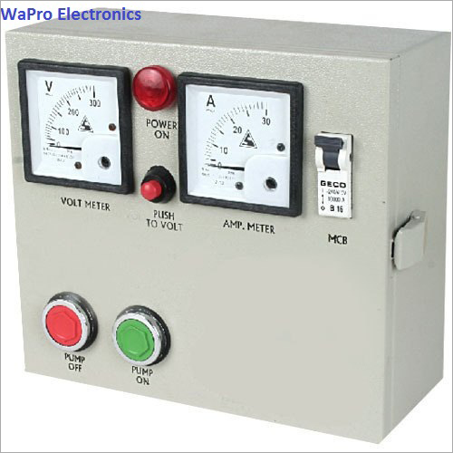 Wapro Open Well Water Pump Control Panel
