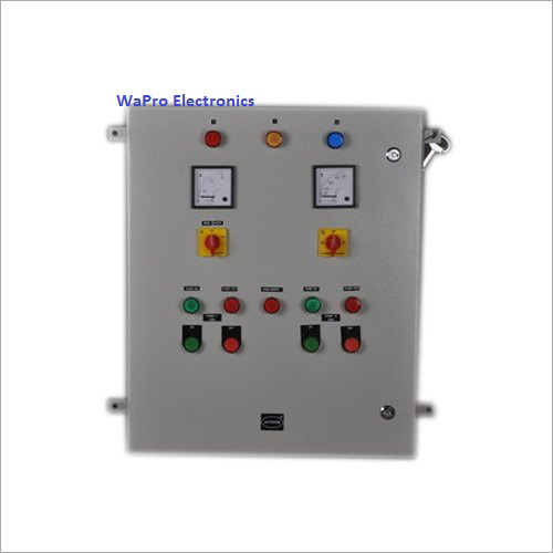 Wapro Open Submersible Well Borwell Pump Control Panel