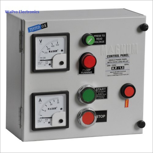 Wapro Water Pump Control Panel