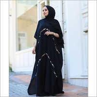 Black Designer Abaya Dress