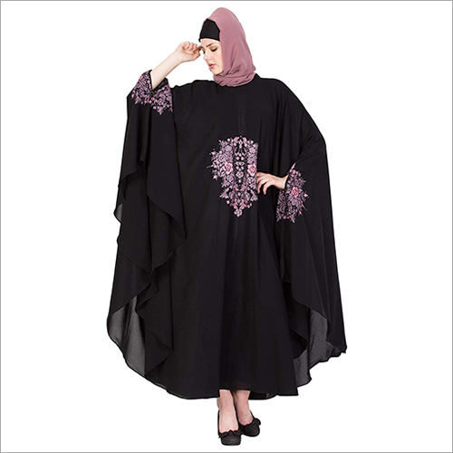 Embroidered Abaya Dress