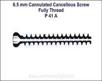 6.5 mm Cannulated Cancellous Screw Fully Thread