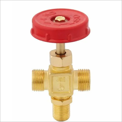 Brass F Valve 2 way