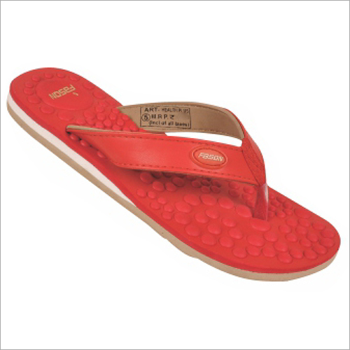 4x7 Inch Ladies Plain Slippers