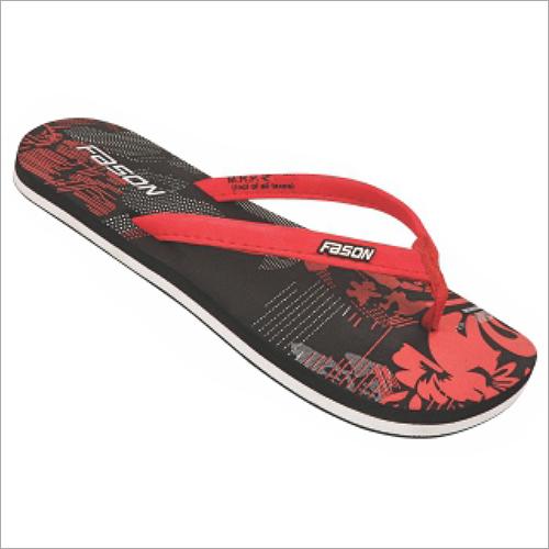 4x7 Inch Ladies Beachwear Printed Slippers