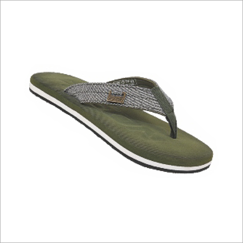 Grey 6x9 Inch Mens Soft Slippers